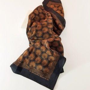 Metropolitan Museum 100% Silk Scarf
